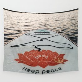 Keep Peace Wall Tapestry