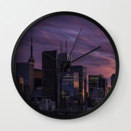 Summer in the 6ix Wall Clock