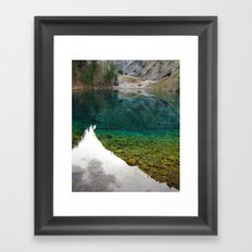 There's something really magical about this place Framed Art Print