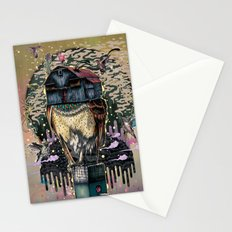 The Barn Owl Fortune Teller Stationery Cards