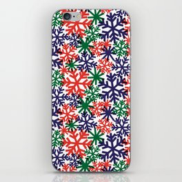 CHRISTMAS SNOWFLAKE iPhone Skin