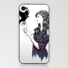 Dark Wings iPhone & iPod Skin