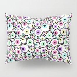 Candy Pastel Eyeball Pattern Pillow Sham
