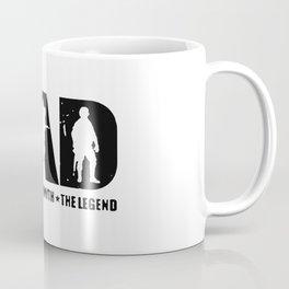 Veteran DAD The Man The Myth The Legend Coffee Mug