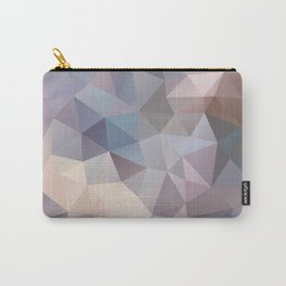 Polygon pattern 9 Carry-All Pouch