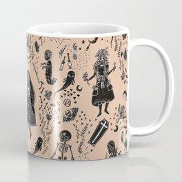 Creatures of the Night (orange) Coffee Mug
