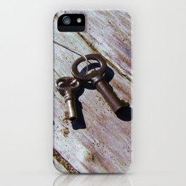 Keys to the Beach iPhone Case