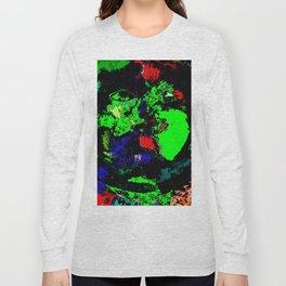 Green Stump Man Long Sleeve T-shirt