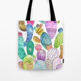 Cactus King Tote Bag