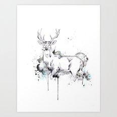 Crowned II Art Print