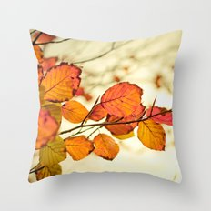Leave me alone! Throw Pillow