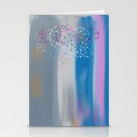 transparent Stationery Cards featuring transparent cloud by Bunny Noir