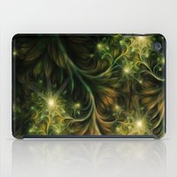 fireflies iPad Cases featuring Fireflies by Happi Anarky