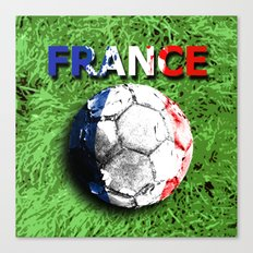 Old football (France) Canvas Print