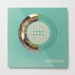 Aftershock Metal Print