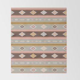 Vintage Kilim (small) Throw Blanket