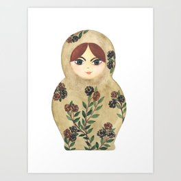 Matryoshka Doll #2 Art Print