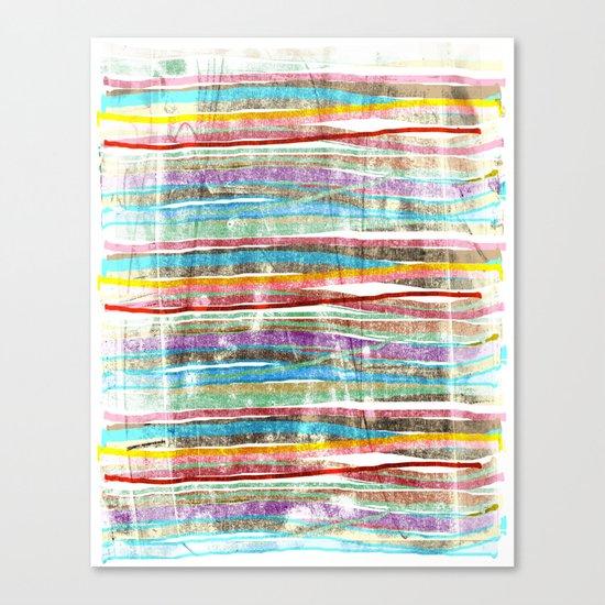 fancy stripes 3 Canvas Print
