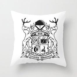 Luxurus Dominus Throw Pillow