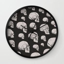 On the Two Principal Forms of Ancient British and Gaulish Skulls Wall Clock