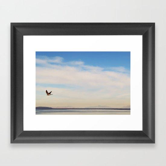 FREE SPIRITS HAVE TO SOAR ♡ Framed Art Print
