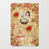 shabby chic Canvas Prints featuring Shabby Chic by Diego Tirigall