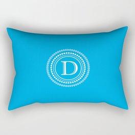 The Circle of D Rectangular Pillow