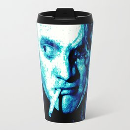 James Cagney, blue Madness. Travel Mug