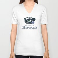 nfl V-neck T-shirts featuring Seattle Ewoks - NFL by Steven Klock