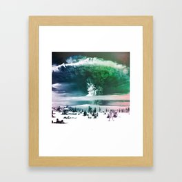 Before It's Too Late Framed Art Print