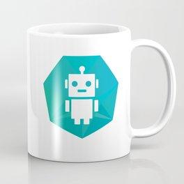 Robot Badge Coffee Mug