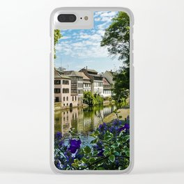 At the Canal de la Sarre Clear iPhone Case