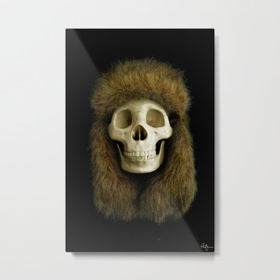 Northern Skull Metal Print