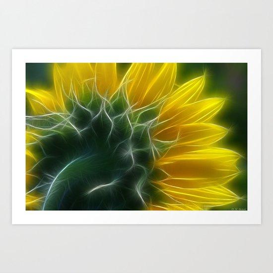 Golden Delight Art Print