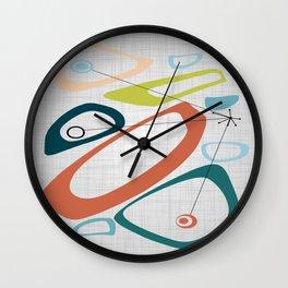Mid Century Modern Art 02 Wall Clock