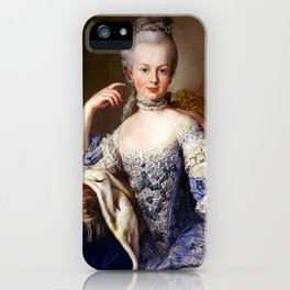 Marie Antoinette, Young 1 iPhone Case