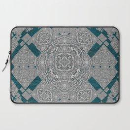 African Tribal Fractal Mandala Laptop Sleeve
