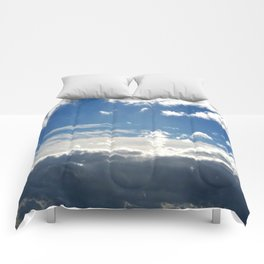 Windy Day Sky Comforters