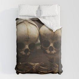 Conjoined Infant Skeletons at Museum Vrolik Comforters