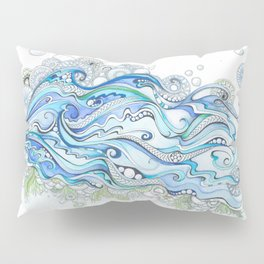 Ocean Seaweed Pillow Sham
