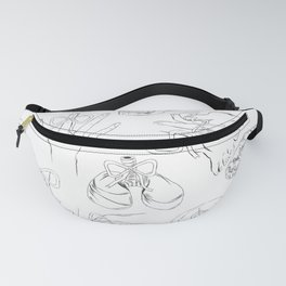 Body Parts Fanny Pack