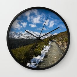 Routeburn Track Wall Clock