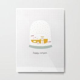 Happy Camper Metal Print