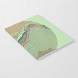 TOPOGRAPHY 001 Notebook