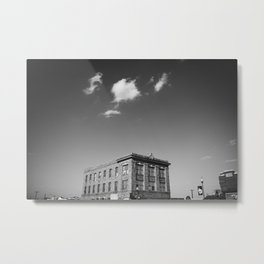 Ft. Worth Clouds Metal Print