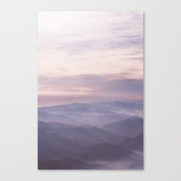 Coast Mountains Canvas Print