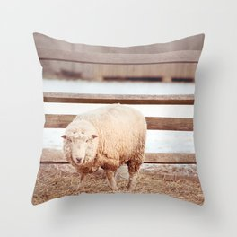 Barnyard Stance Throw Pillow