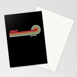 Oakley California City State Stationery Cards