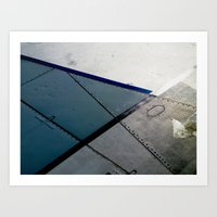 aviation Art Prints featuring Aviation by Paper Possible