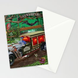 Graveyard Ghost Tours Stationery Cards